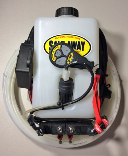 Salt-Away Direct Injection Kit for twin engines